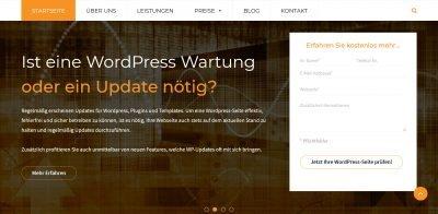 WordPressWartung